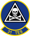 31st TES  Decal