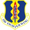 33rd Fighter Wing Decal