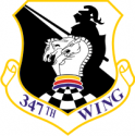 347th Wing Decal