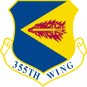 355th Wing Decal