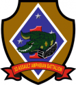 3rd Assault Amphibian Battalion Decal