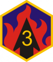 3rd Chemical Bde Decal