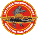 3rd Force Recon  Operation Iraqi Freedom Decal