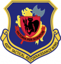 432nd TRW  Decal