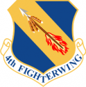 4th Fighter Wing Decal