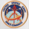 U.S. Army Space Command Patc
