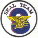 NAVY SEAL Team 8 Patch