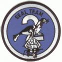 NAVY SEAL Team 2 Type II Patch