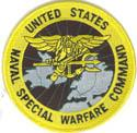 SEAL Special Warfare Command Patch