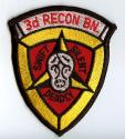 USMC 3rd Recon BN Patch