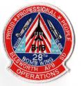 28th Bomb Wings Patch