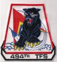 494th Tactical Fighter Squadron Patch