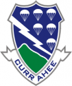 506th Infantry Regt Air Assault Decal