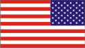 50 Star Flag (Reversed) Decal