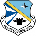 552nd Air Control Wing Decal