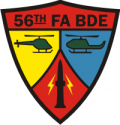 56th FA Bde Decal