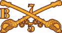 5B-7 Cavalry Decal