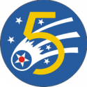 5th Air Force Decal