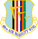 60th Air Mobility Wing Decal