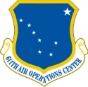 611th Air Operations Center (Color) Decal