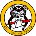 61st Tactical Fighter Training Squadron  Decal