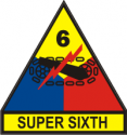 6th Armored Div Decal
