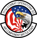 701st Combat Operations Sq Decal