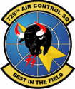 729th ACS Decal