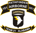 75th Pathfinders 101st Decal