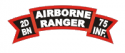 2d Bn 75th Rangers Abn Decal