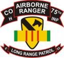 75th Rangers Long Range Patrol HCO-1STCAV
