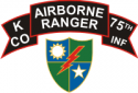 75th Ranger Regiment K Company Decal