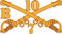 B Troop 7-10 Cavalry Decal