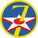 7th Air Force Decal