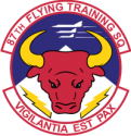 87th Fighter Interceptor Squadron - 2  Decal