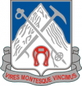 87th Infantry Regiment Decal