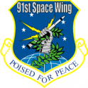 91st Space Wing Decal
