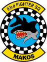 93rd Fighter SQ Decal