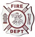 FIREFIGHTER CHROME DECAL