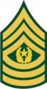 Army E-9 CSM Command Sergeant Major