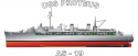 AS Proteus Class USS Proteus AS-19  Decal