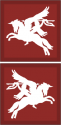 British Airborne Pegasus  Decal  Left Only