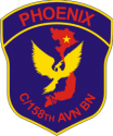 C/158TH Aviation Battalion Decal