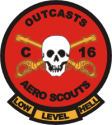 C/16th Air Cav Aero Scouts  Decal