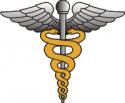 Medic Caduceus Decal