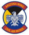 CAP AZ Wing  Decal