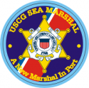 Coast Guard Sea Marshal Decal