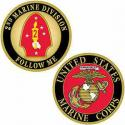 2nd Division Challenge Coin