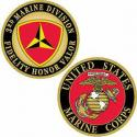 3rd Division Challenge Coin