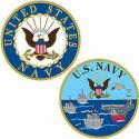 NAVY Ships Challenge Coins